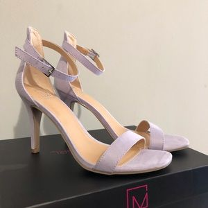 Material girl lilac sandals heels